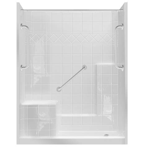 5 Foot Fiberglass Shower by Bathroom Best Lowes Shower Stalls With Seats For Modern