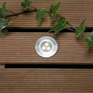 Techmar Alpha Warm White Decking Lights