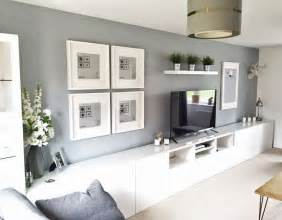 livingroom units ikea bestå living room tv unit picture frames ribba white grey home decoration