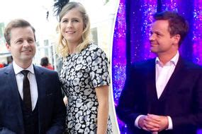 Declan Donnelly is back wearing his wedding ring during ...