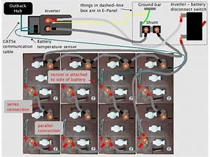 Solar Battery Bank Wiring Diagram