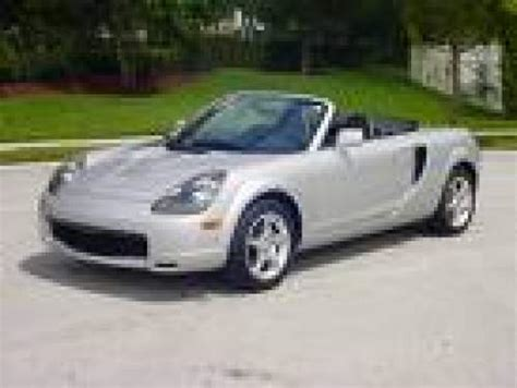 Boats For Sale Deception Bay by 2001 Used Toyota Mr2 Spyder Convertible Car Sales