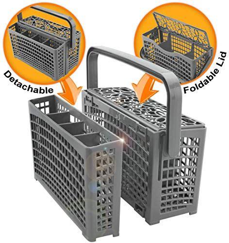 top  kitchenaid dishwasher silverware basket dishwasher replacement baskets nozamas