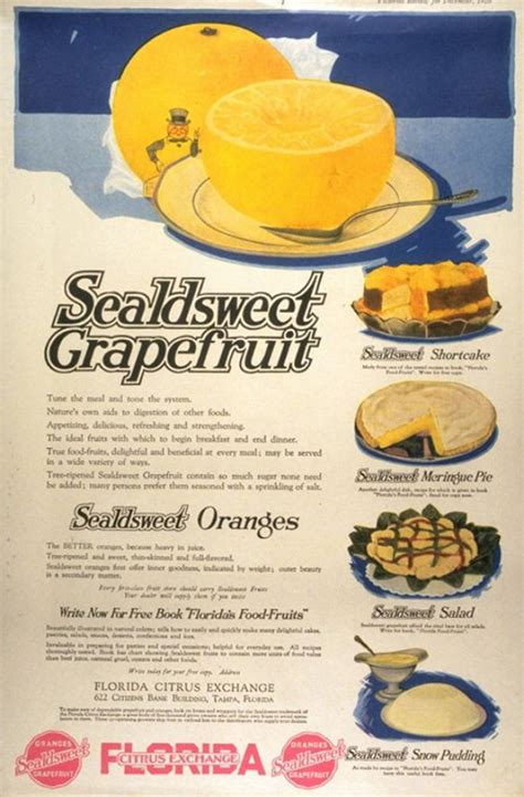 cuisine ad vintage food advertisements of the 1910s