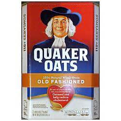 groceries breakfast cereal quaker  fashioned
