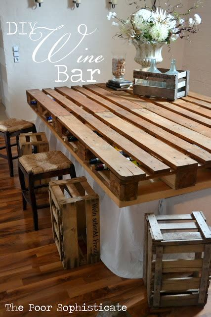 Diy Bar Furniture by 50 Wonderful Pallet Furniture Ideas And Tutorials