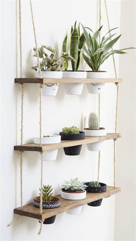 Hanging Pot Shelf by Tribeca Trio Pot Shelf Hanging Shelves Planter Shelves