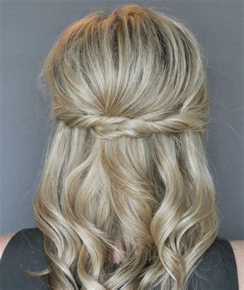 semi updo hairstyle ideas  haircuts hairstyles