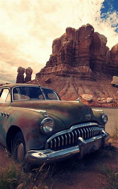 Abandoned Buick Mobile Wallpapers Mordeo Lock Tweet