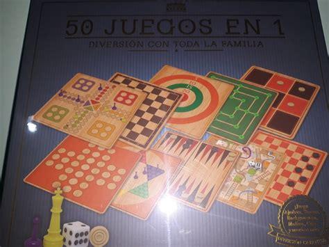 Ajedrez, puzles, el popular parchis y el juego antiguo de la época. Juegos Clásicos De Mesa 50 En 1 - $ 590.00 en Mercado Libre