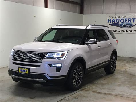 New 2018 Ford Explorer Platinum Suv In West Chicago #18415