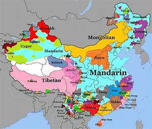 INFOGRAPHIC The Languages Spoken In China