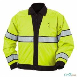 Hi Viz Greenish Yellow Neon Jacket Manufacturer USA