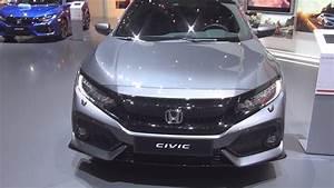 Honda Civic Sport Plus : honda civic 1 5 vtec sport plus 2017 exterior and interior youtube ~ Medecine-chirurgie-esthetiques.com Avis de Voitures