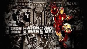 Ironman Comic Wallpaper   Free   Download