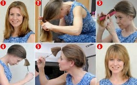 HD Wallpapers Diy Ponytail Cut Layers Efadegq - Diy ponytail cut layers