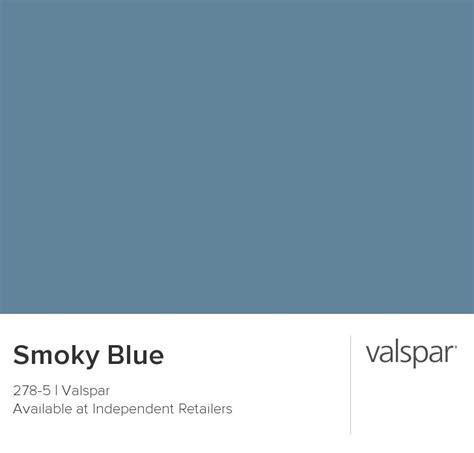 valspar paint color chip smoky blue our home colors