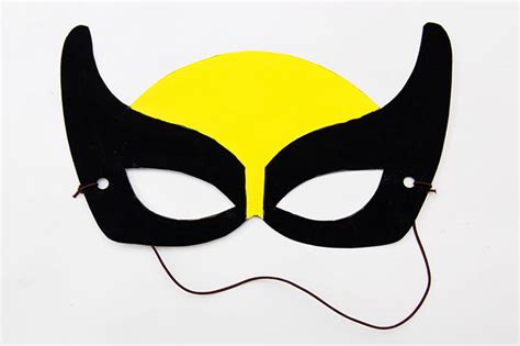 superhero masks kids crafts fun craft ideas