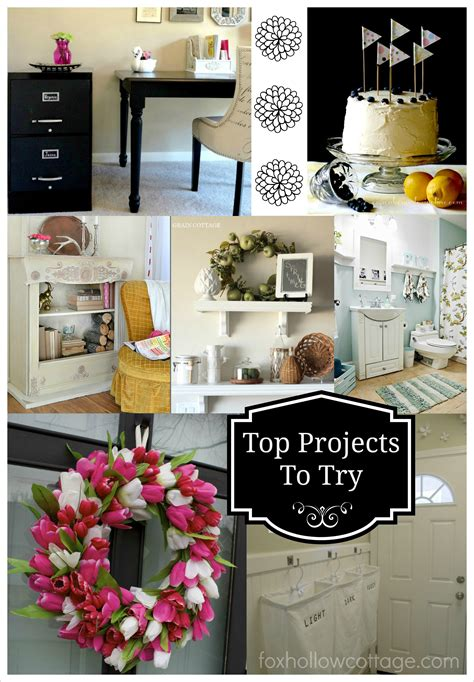 diy home decor projects power of link and friday fav features
