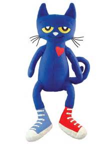 pete the cat stuffed animal describe the pictures in pete the cat rocking in my school