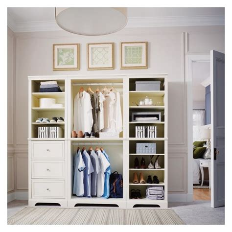 naples pc closet organizer white home styles target