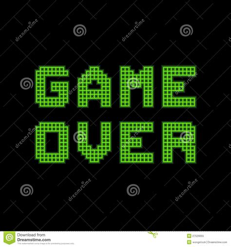 game over the