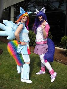 Rainbow Dash and Twilight Sparkle Cosplay by Lionofdemise ...