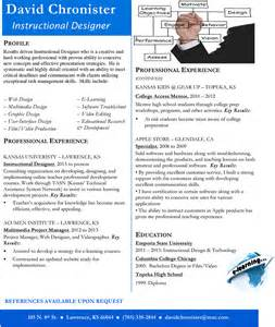 design resumes exles sle resume design