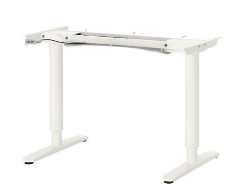 table de bureau ikea pied de table reglable en hauteur ikea