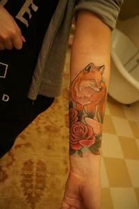 fox tattoo | Tattoo- Animals | Pinterest