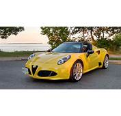 2017 Alfa Romeo 4C Spider Review And Road Test