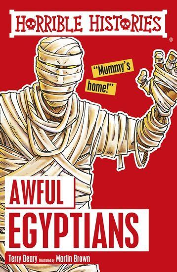 Horrible Histories: Awful Egyptians   Scholastic Kids' Club