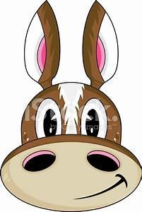 Cute Cartoon Horse Head stock photos - FreeImages.com