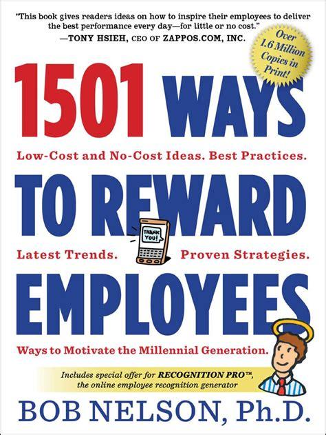ways  reward employees  employee