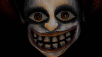 Scary Clown Screensavers Background