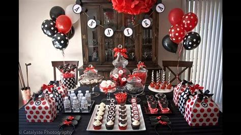 cool mickey mouse birthday party decorations ideas youtube