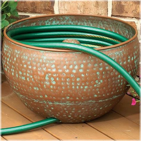 Decorative Garden Hose Pots - garden decor your way to a beautiful outdoor living