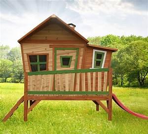 Maisonnette En Bois Sur Pilotis : cabane d 39 enfant en bois emma maisonnette en bois sur ~ Dailycaller-alerts.com Idées de Décoration
