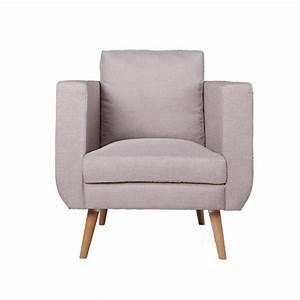 Fauteuil Club Tissu : fauteuil club bocky tissu lin ~ Teatrodelosmanantiales.com Idées de Décoration