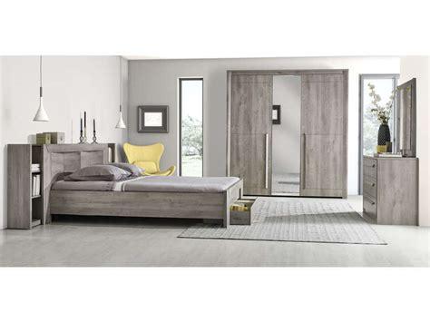magasin de chambre à coucher commode 3 tiroirs coloris chêne gris vente de