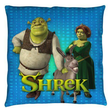 shrek pillow pet shrek pals throw pillow white 14x14 walmart