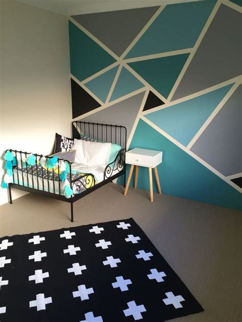 big boys bedroom withal the ikea minnen toddler bed frame