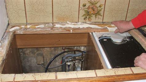 demonter evier cuisine remplacer et poser un évier en inox