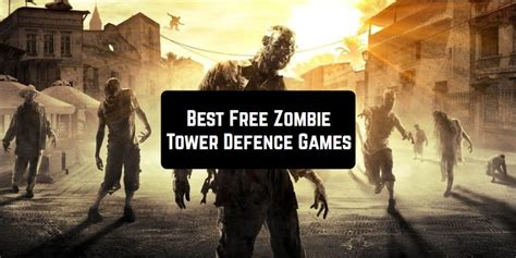 zombie defense tower games ios game android freeappsforme survival