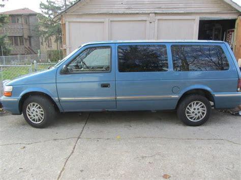 1993 Dodge Caravan by Purchase Used Dodge Caravan 1993 In Berwyn Illinois