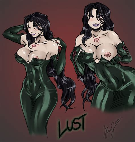 busty lust by preyingphantom hentai foundry