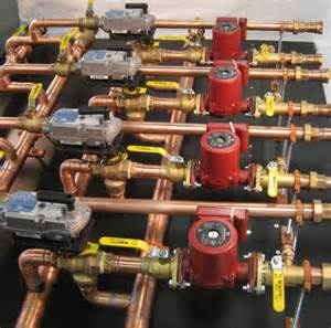 Hydronic Radiant Floor Heating Design by Hydronic Control Panels Radiant Heating Systems