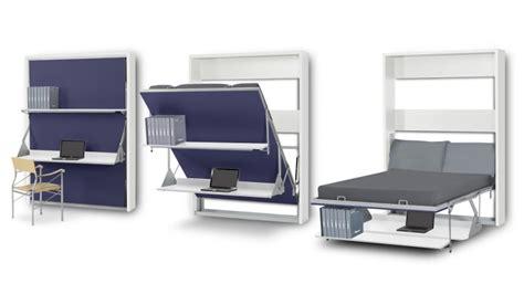 lit escamotable bureau lit bureau pliable 2 places matrix gagnez du rangement