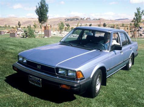Honda Accord 4 Doors 1981 1982 1983 1984 1985
