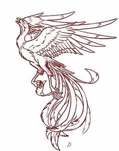 Fire Phoenix Tattoo Designs | Tattoos | Pinterest | Wings ...